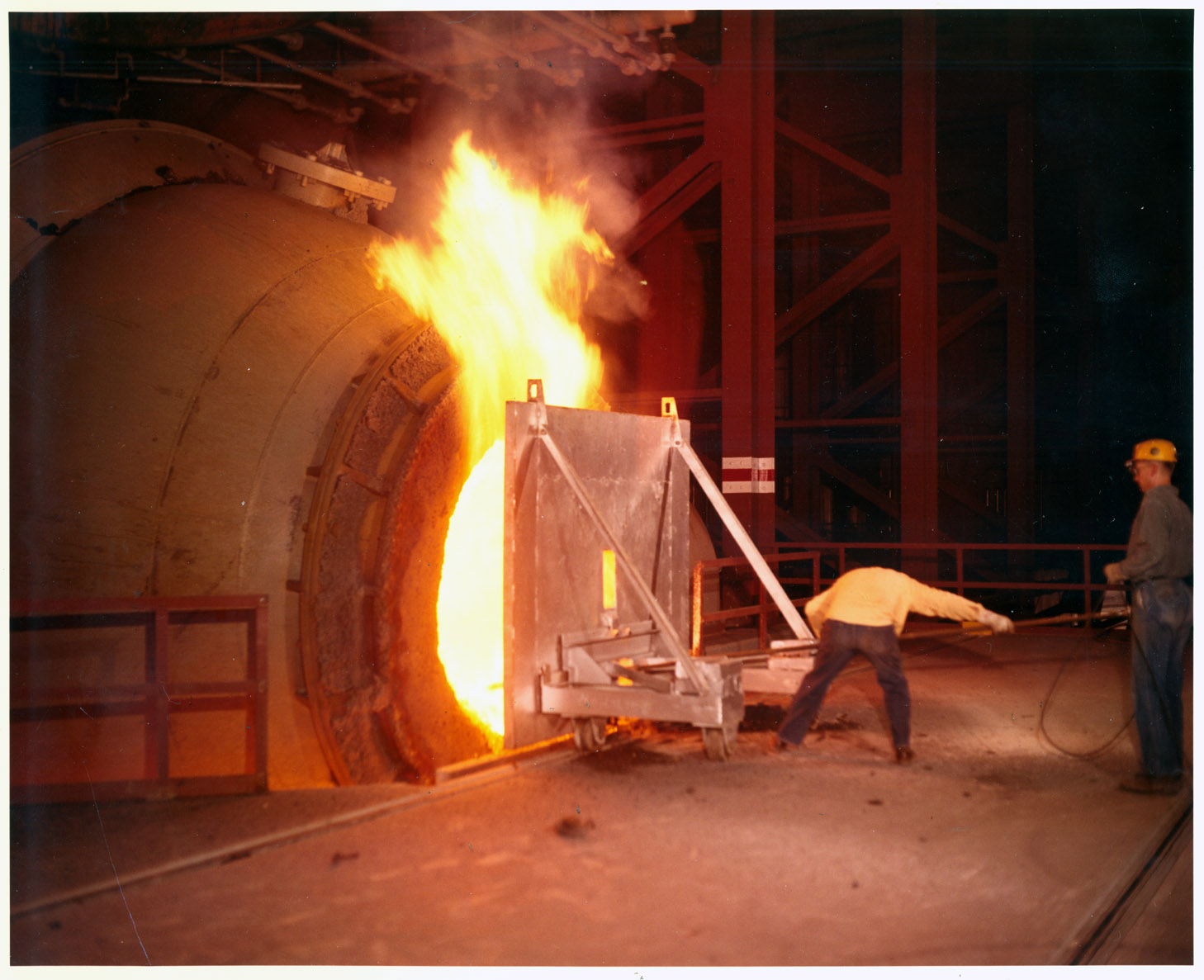 Blast Furnace Lime : Basic oxygen furnace steelworks center of the west