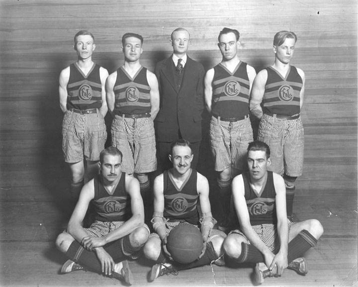 steel y basketball team 1928