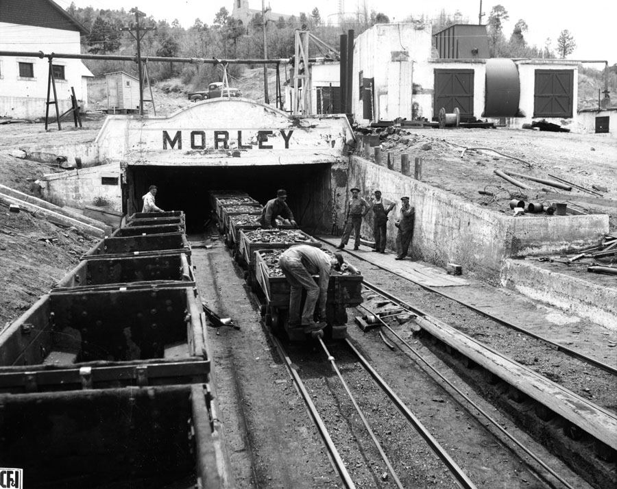 Coal Car Box 11 Last day of production at morley 1956